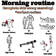 Daily Workouts at Home to Burn Fat & Get Fit | Do This Workout Every Morning