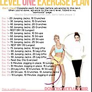 Daily Workouts at Home to Burn Fat & Get Fit | Level One Exercise Plan