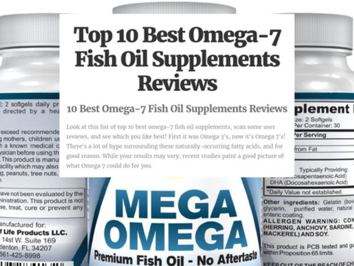 Best omega 7 fish oil supplements reviews a listly list for Oily fish list