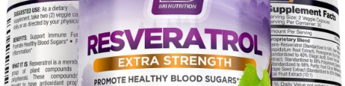 Headline for Best Quality Resveratrol Helps Regulate Blood Sugar Naturally Reviews & Rating 2016