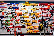 Nerf Gun Arsenals - Famous Youtubers Share Amazing Collections | Aaron's 100