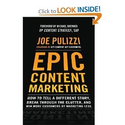 Epic Content Marketing by Joe Pulizzi | Epic Content Marketing is for entrepreneurs, too