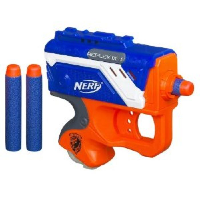 Know someone who likes Nerf guns? Hurry on over to Amazon where you can  score this highly rated Nerf Rival Apollo XV-700 Gun in frustration-free  packaging ...