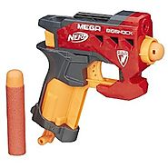 Top 11 Nerf Blasters Under $10 - 2017 Edition | Nerf N-Strike Mega BigShock Blaster