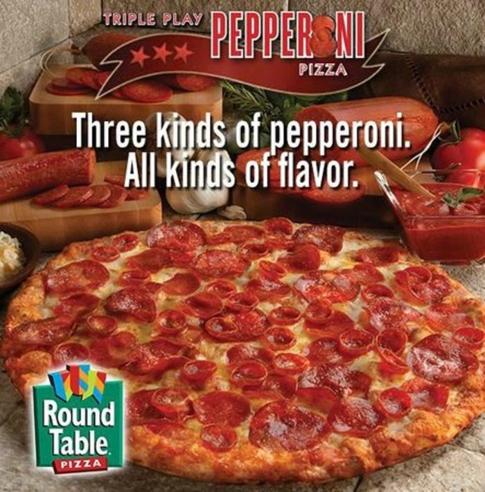 Round Table Pizza: Top 10 Pizza Chains In The World