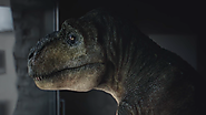 A Depressed T-Rex and His Tiny Arms Find Relief in This Oddly Wonderful Audi Ad