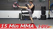 Best Cardio MMA Workouts | 15 Min MMA Training Conditioning
