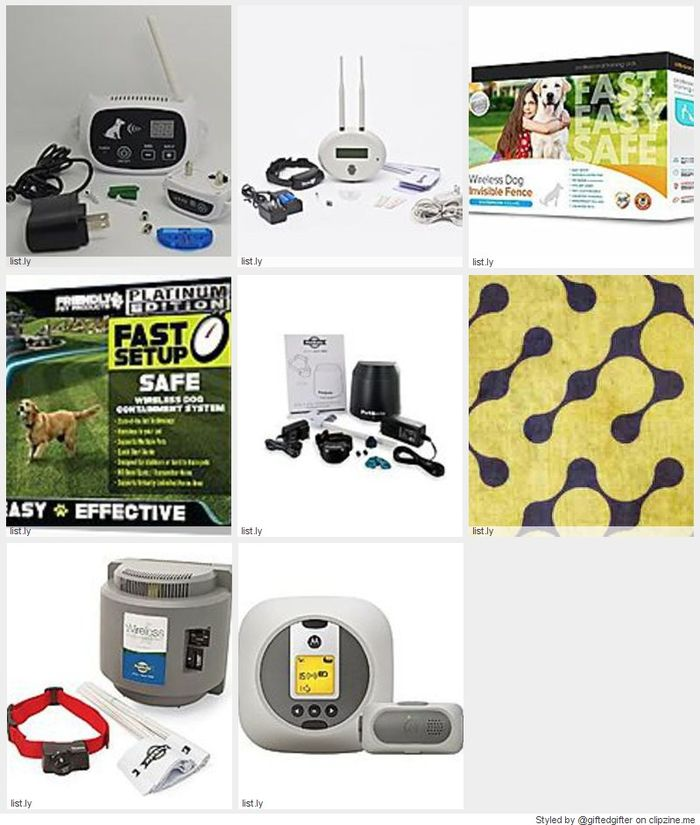 Best Wireless Electric Dog Fences 2016 2017 A Listly List