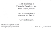 SWJOCO Referral and Networking Group | MJH Insurance - Mark Halpin