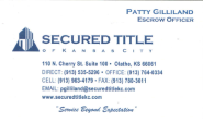 SWJOCO Referral and Networking Group | Secured Title of KC - Patty Gilliland