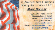 SWJOCO Referral and Networking Group | All-American Small Business Computer Services, LLC - Mark Donner