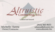 Altruistic Contracting, LLC - Michelle Hanna