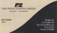 Farm Bureau Financial Services - Sean Snyder