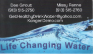 Life Changing Water - Dee Grout