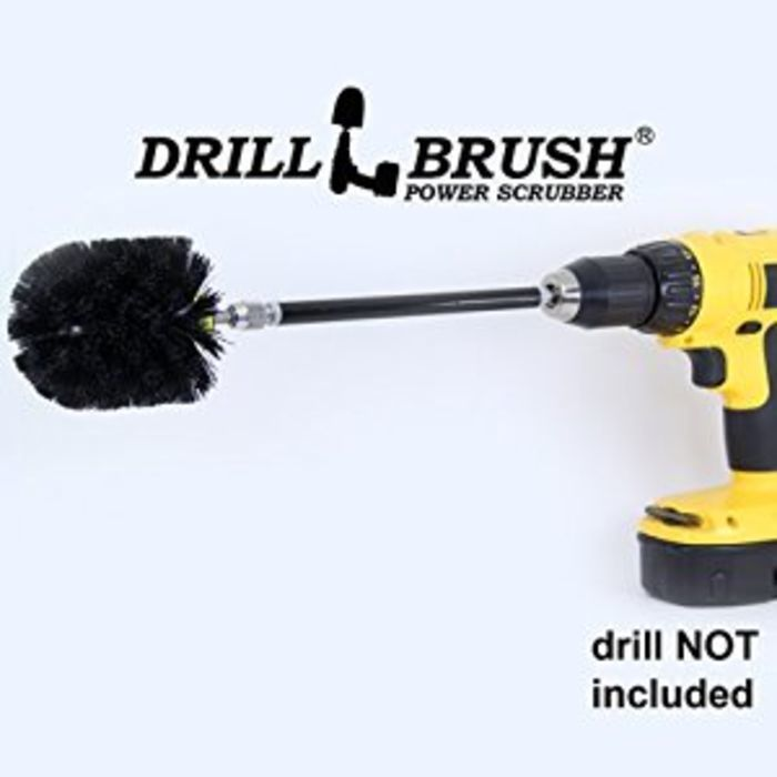 Best Powered Scrub Brush Drill Attachments Reviews A