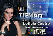 Top 15 Hot Mexican Weather Girl | Leticia Castro