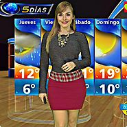 Top 15 Hot Mexican Weather Girl | Zelenny Ibarra