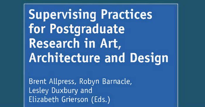 postgraduate dissertation supervision