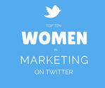 Top Ten Influential Women in Marketing on Twitter