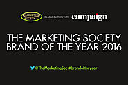 Vote for The Marketing Society Brand of the Year 2016