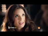 Go Daddy Girls Paint Hot Model in Super Bowl Ad (2012)