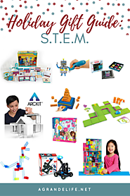 2016 Holiday Gift Guide | Top STEM Toys for 2016 - A Grande Life