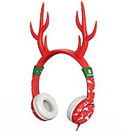 Gifts for Elementary-School Aged Kids | iClever Reindeer Headphones
