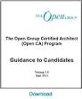 The Open Group | Enterprise Architecture