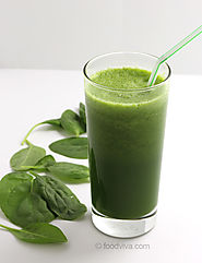 Tasty & Nutritious Spinach Juice Recipes | Detoxifying Raw Spinach Juice for Glowing Skin