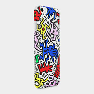 Best Holiday Art Gifts MoMA Design Store | Keith Haring iPhone 6 Case Chaos, Clear