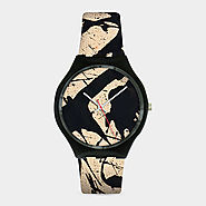 Best Holiday Art Gifts MoMA Design Store | Pollock Black & White Watch