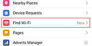 New Facebook feature lets you find nearby Wi-Fi