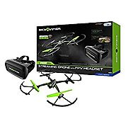 Sky Viper V2400 HD Streaming Drone with FPV Headset