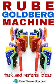 Exciting Maker Ed Projects for Kids | Rube Goldberg Ideas: Tasks & Materials to Make a Machine