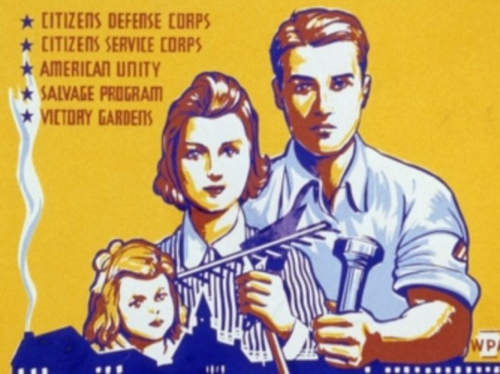 transformation on the home front in america during world war ii