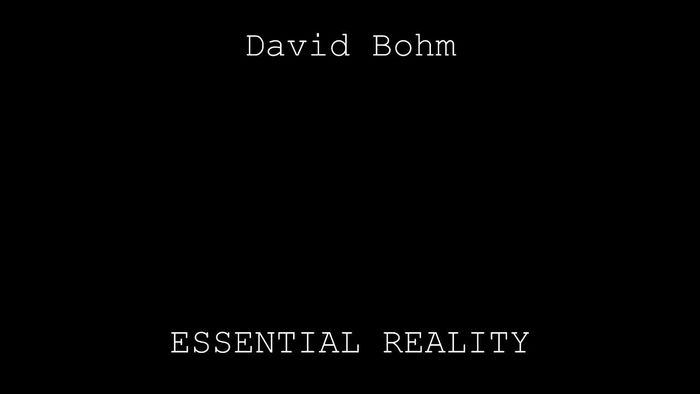10 videos with physicist david bohm a listly list. Black Bedroom Furniture Sets. Home Design Ideas