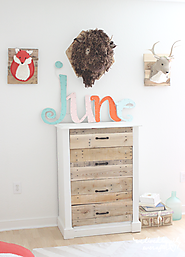 DIY Pallet Drawers
