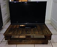 Top Pallet Projects | TV Stand Pallet