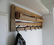 Top Pallet Projects | Coat rack