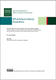 IFLA School Library Guidelines, 2nd edition