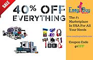 Get upto 40% off on all products at Easybuyoutlets