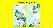 "Now Snapchat has ""Filter Games"""