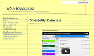 Notability Tutorials - iPad Resources
