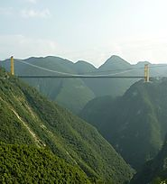 Top 10 Bridges In The world | Sidu River Bridge, China