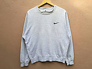 Alt. Fashion: Top 10 Thrift Shop Searches for January | Sale!! Vintage Nike Swoosh Sweatshirt !! Size L