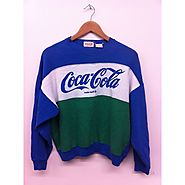 Alt. Fashion: Top 10 Thrift Shop Searches for January | Vintage Coke anything.