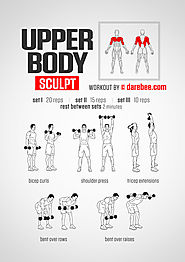 Quick Workouts for Busy People to Be Fit & Healthy | Upper Body Sculpt