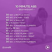 Quick Workouts for Busy People to Be Fit & Healthy | Best 10 Minute Abs Workouts to Get Flat Stomach Quickly