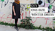 Fire it up: 10 DIY Cool Girl Winter Style ideas. | DIY one size winter dress