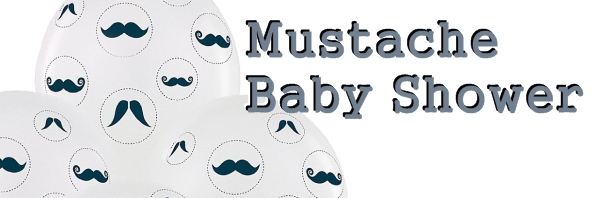 Mustache Baby Shower Decorations
